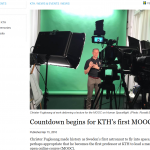 KTH MOOC: Too Late to be Good!